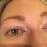 Before Lash Lift by Taylor Storm