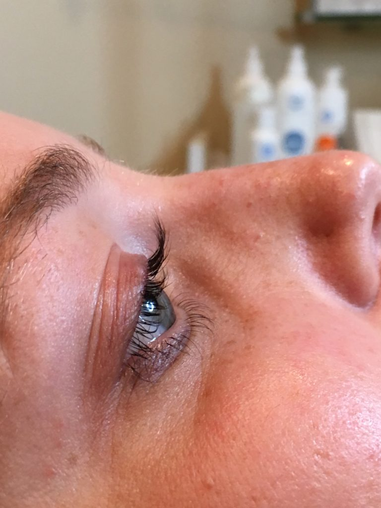 After Lash Lift by Taylor Storm